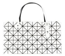 Handtasche mit Prismenmuster