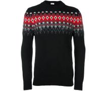 Verzierter Jacquard-Pullover