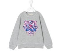 'Tiger' Sweatshirt mit Stickerei