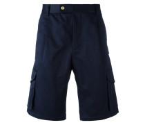- Shorts mit Logo-Patch - men - Baumwolle - 3