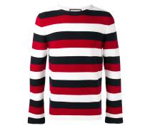 Pullover mit Schlangen-Patch - men - Baumwolle