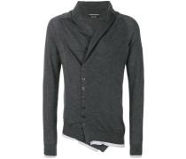 asymmetric buttoned cardigan