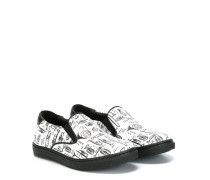 'Musical' Slip-On-Sneakers mit Print - kids