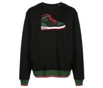 'Red Sneak' Sweatshirt