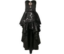 double skirt bustier dress