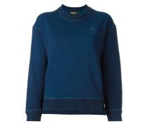 Cropped-Sweater mit rundem Ausschnitt
