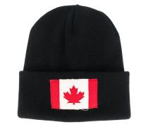 Beanie mit Kanada-Flagge