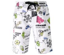 'Cartoon Flyers' Shorts - men