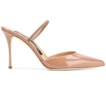 slingback pointed sandals