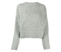 Pullover im Cropped-Design
