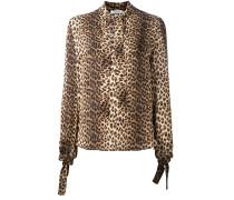 Seidenhemd mit Leoparden-Print - women - Seide