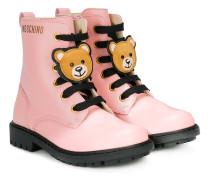 Stiefel mit Teddy-Bär-Patch