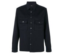 chest pockets shirt