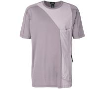 T-Shirt mit langer Tasche