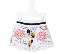 Shorts mit Minnie-Mouse-Print