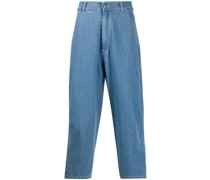 'Hang' Cropped-Jeans
