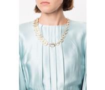 Halskette mit Blattanhängern