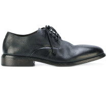 distressed Derby shoes