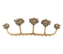 Vier-Finger-Ring mit Raubkatzendetails