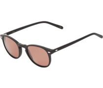 Sonnenbrille mit rundlichen Gläsern