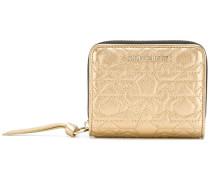 Regina small embossed wallet