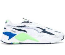 colour-block low-top trainers