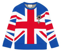 - Union Jack jersey sweatshirt - women