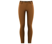 panelled skinny trousers