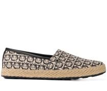 Loafer mit Gancini-Print