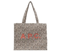 A.P.C. Handtasche mit Print