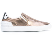 Slip-On-Sneakers in Metallic-Optik - men