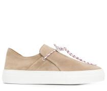 padlock lace sneakers