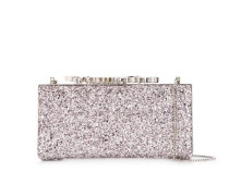'Degrade' Clutch mit Kristallen