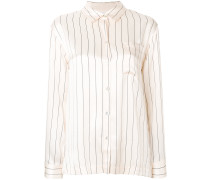 pinstripe pyjama top