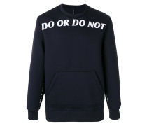 'Do Or Do Not' Pullover
