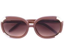 - Eckige Sonnenbrille - women - Acetat/metal