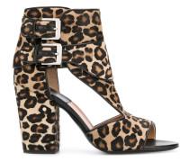 'Rush' Sandalen mit Leopardenmuster