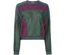 Lurex-Sweatshirt