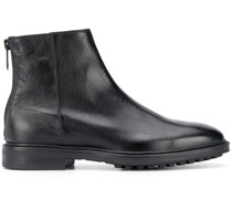 Fleming zipped ankle boots