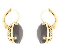 18kt vergoldete Ohrringe aus Sterlingsilber mit Achaten