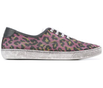 Sneakers mit Leoparden-Print - men
