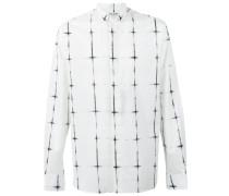 Hemd mit Stehkragen - men - Baumwolle - 38
