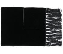 velvet fringed scarf