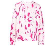 Hot CC Sweatshirt mit Batikmuster