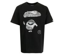 A BATHING APE® Desert Camo Ape Head T-Shirt