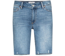 Jax mid-rise distressed shorts