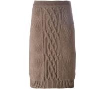Strickrock aus Wolle