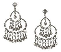 18kt 'Maharajah' Schwarzgold-Ohrringe mit Diamanten