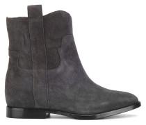 Cowboy-Boots aus Wildleder