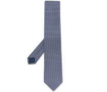 Krawatte mit Insekten-Print